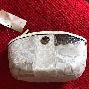 Coach NWT cosmetic case